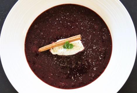 Botswana Dessert Berry Sherry Gazpacho