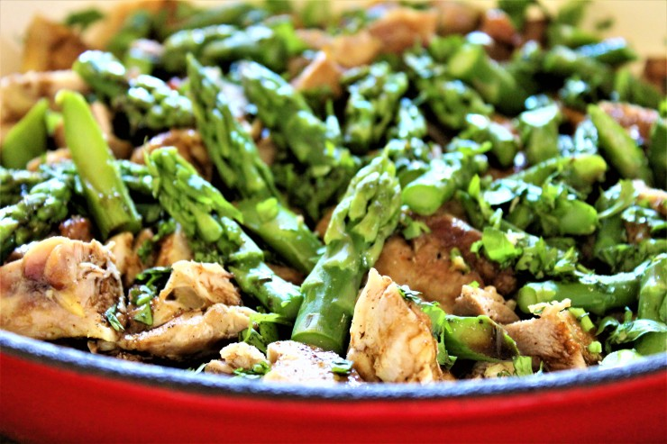 Chicken Asparagus Salad