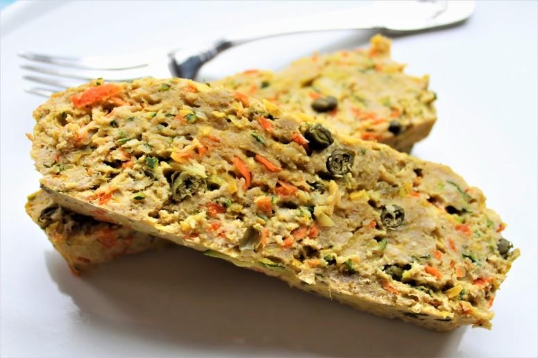 Spiced Turkey Veggie Meatloaf