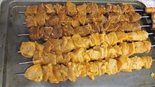 Kafta: Lamb, beef, chicken kebab