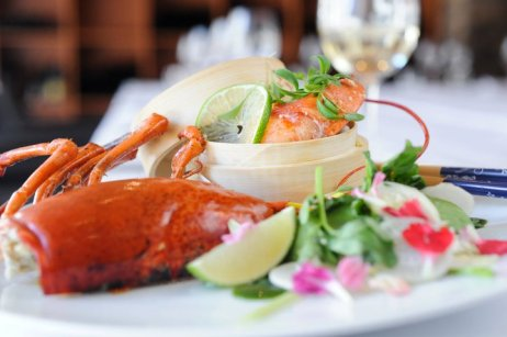 My winning recipe: Bamboo Steamed Lobster & Watercress Salad with Wasabi Aioli