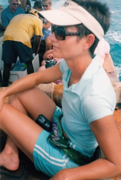 Me on a dhow