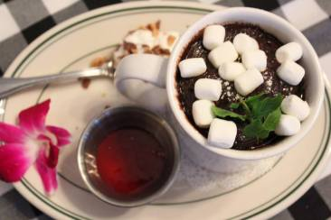 Lava Cake in a Cup