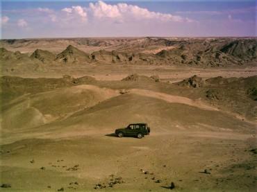Kalahari Desert Badlands