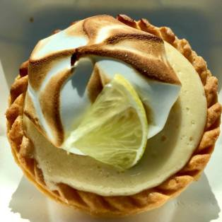 Key Lime Pie Tartlet